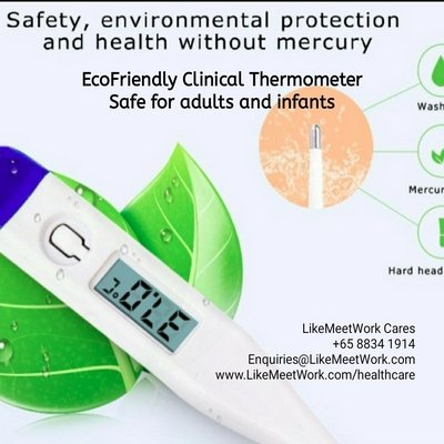 , Thermometer, Innovation Lab and Eco-Friendly WorkSpace